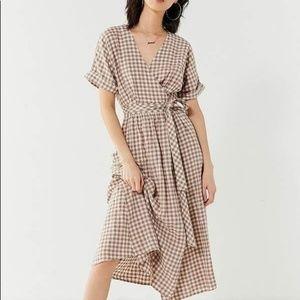 Urban outfitters gabrielle wrap dress